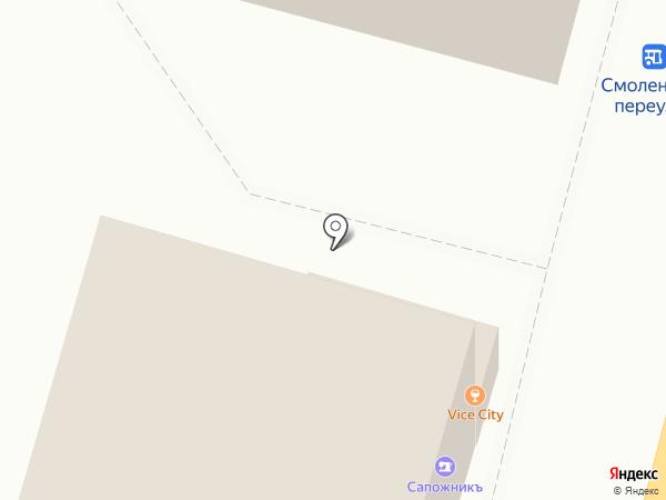 Ателье на карте Твери