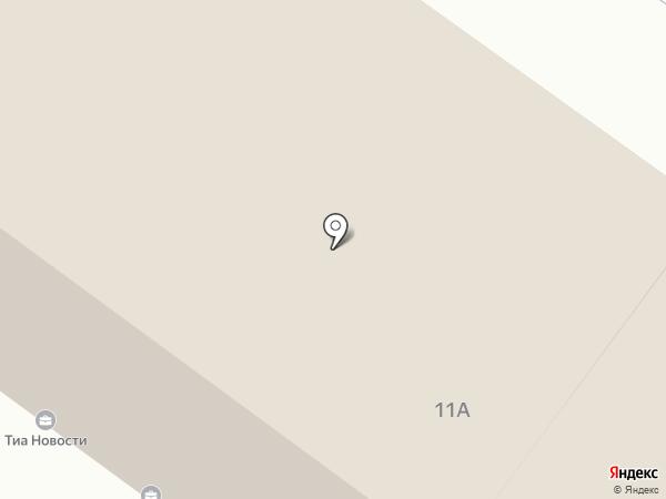 Кафе на Озерной на карте Твери