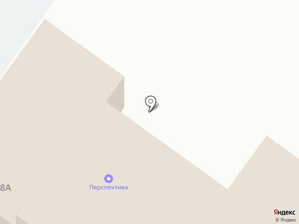 Линия на карте Твери