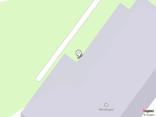 Интеграл на карте Твери