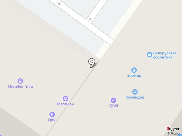 МегаФон на карте Твери