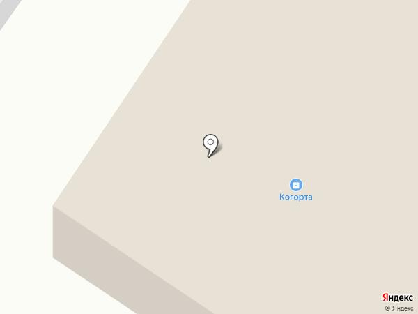 Когорта на карте Твери