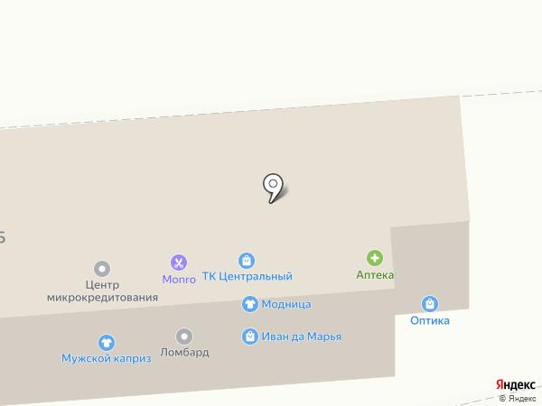 Гарант на карте Прямицыно