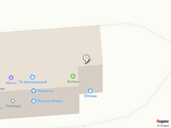 Центр микрофинансирования на карте Прямицыно