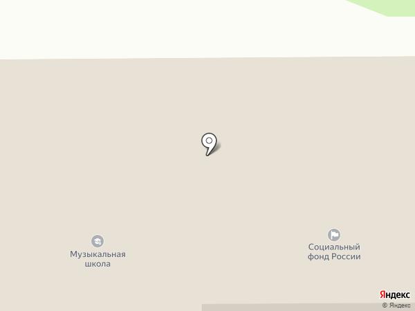 Детская школа искусств Октябрьского района на карте Прямицыно