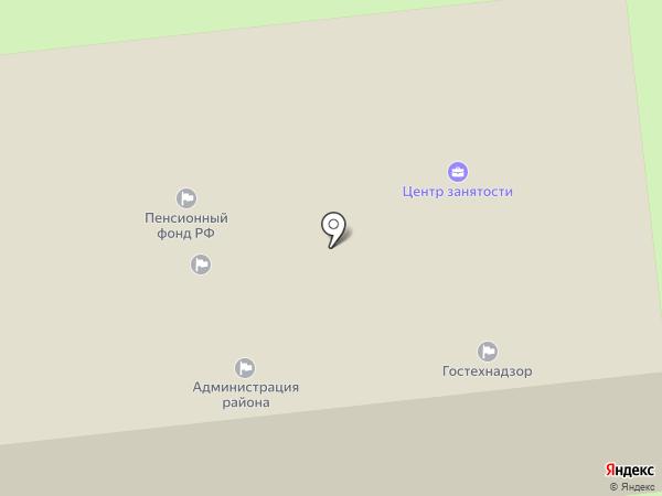Единая дежурная диспетчерская служба Октябрьского района на карте Прямицыно