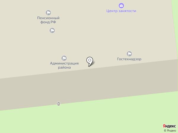 Центр социальных выплат на карте Прямицыно