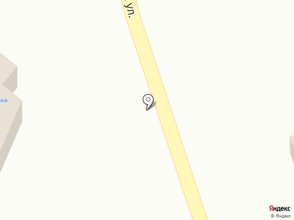 Аист на карте Прямицыно