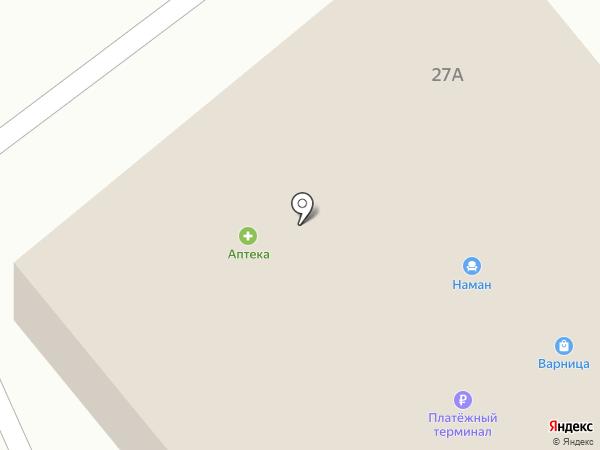 Сеть аптек на карте Товарково