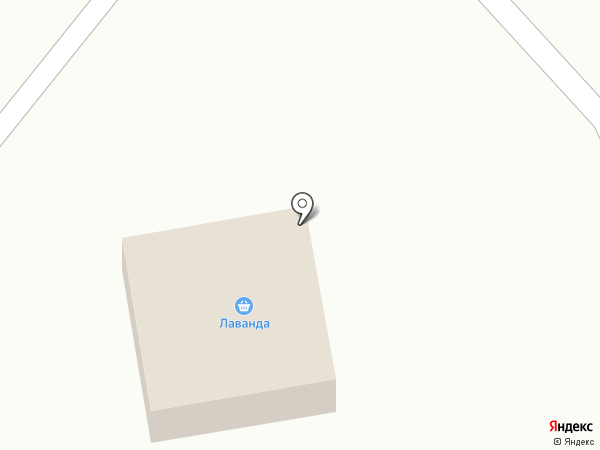 Лаванда на карте Прямицыно