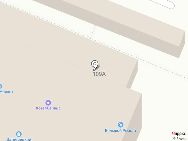 Ателье Наталии Фоминой на карте Твери