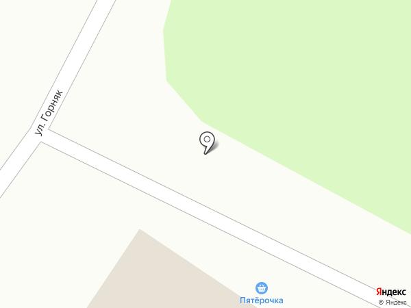 Почтовое отделение №1 на карте Товарково