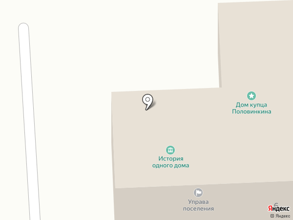 Администрация на карте Полотняного Завода