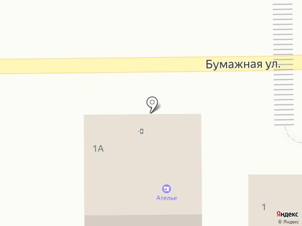 Магазин овощей и фруктов на карте Полотняного Завода