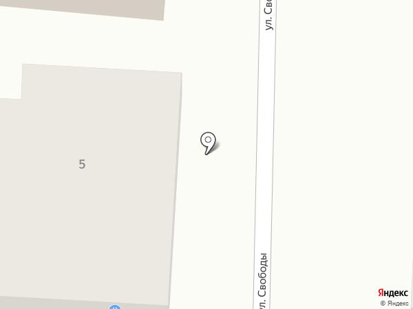 Агентство недвижимости на карте Полотняного Завода