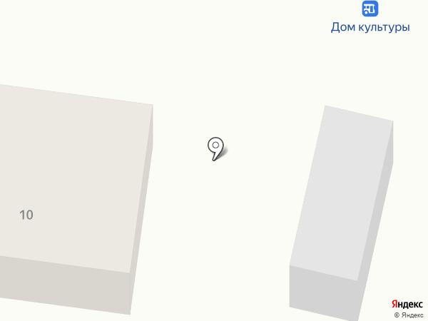 Магнит на карте Полотняного Завода