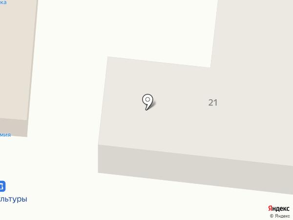 Продуктовый магазин на карте Полотняного Завода