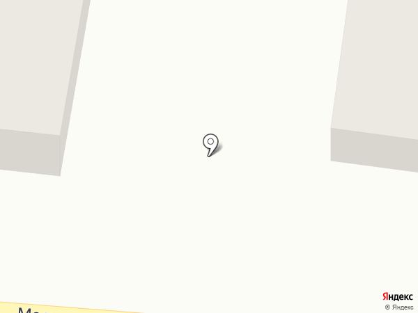 Магазин бытовой химии на карте Полотняного Завода