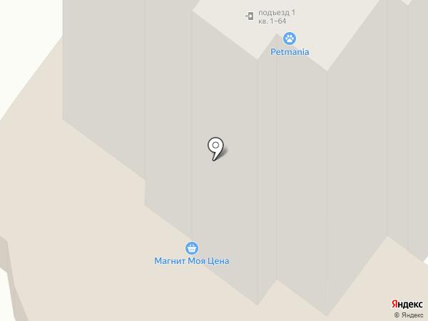 Магнит на карте Орла