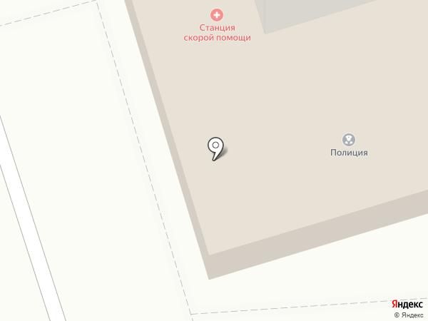 Скорая медицинская помощь на карте Орла