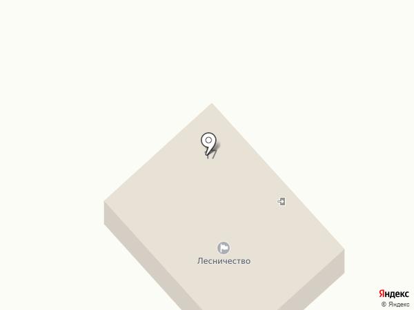 Орловское лесничество на карте Орла