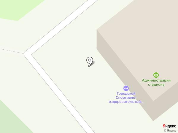 Городской спортивно-оздоровительный центр на карте Орла