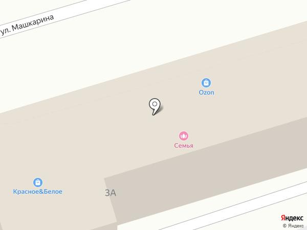 Глобус на карте Орла