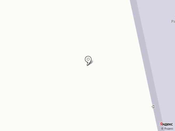 Радуга на карте Жилетово