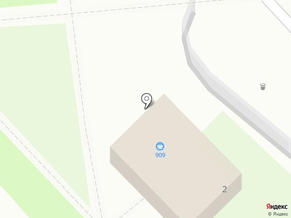 909 на карте Орла