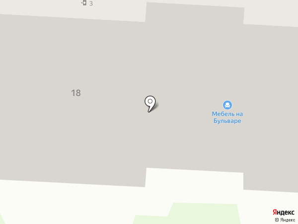 Мебель на Бульваре на карте Орла