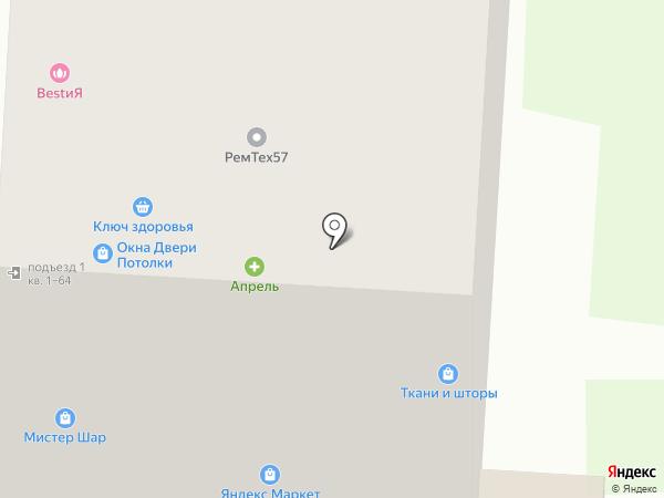 Мир тканей на карте Зареченского