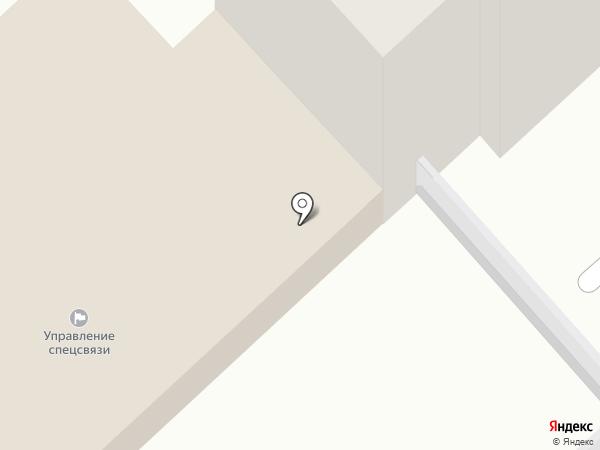 Управление специальной связью по Орловской области на карте Орла