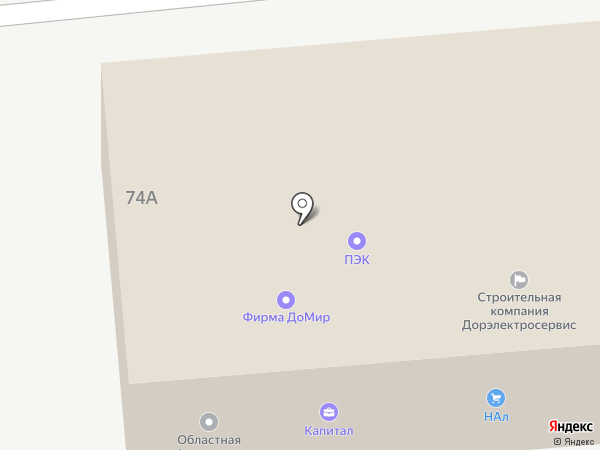 НАл на карте Орла
