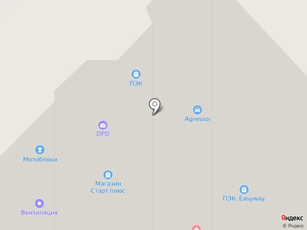 Гидромашина на карте Орла