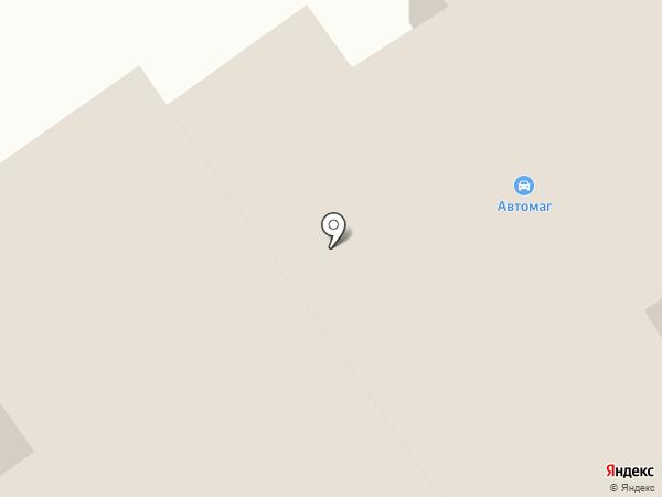 Автомаг на карте Орла