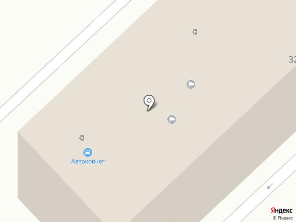 Автоковчег, магазин автозапчастей для HYUNDAI на карте Орла