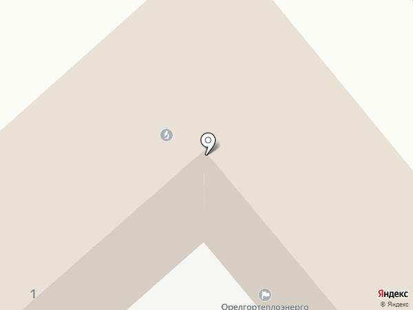 Орёлтеплоэнерго на карте Орла