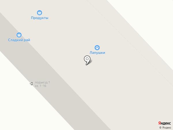 Ириска на карте Орла