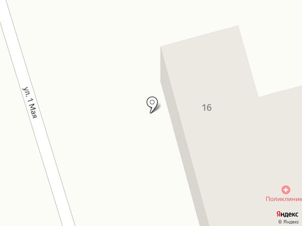 МУЗ Участковая больница №2 на карте има. Льва Толстого