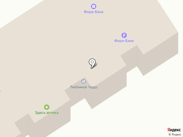 АКБ Фора-банк на карте Воротынска