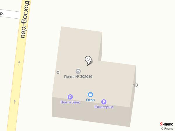 Почтовое отделение №19 на карте Орла