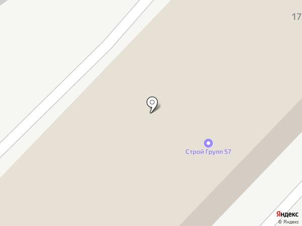 Золотой Дуб на карте Орла