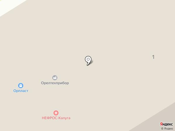 Орпласт на карте Орла