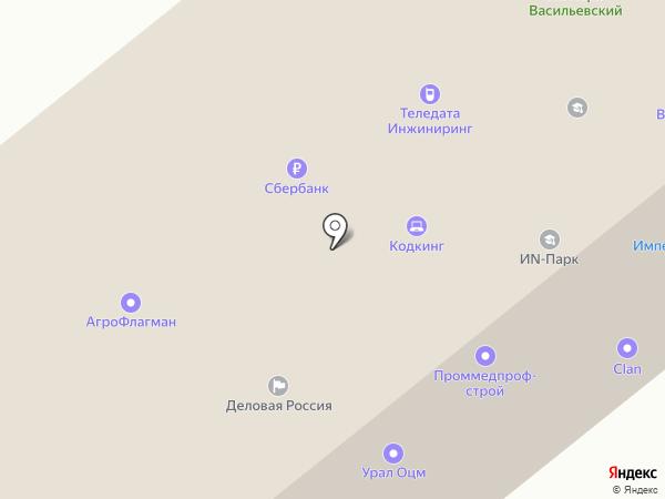 Протек-32 на карте Орла