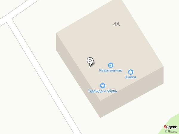 Квартальчик на карте Воротынска