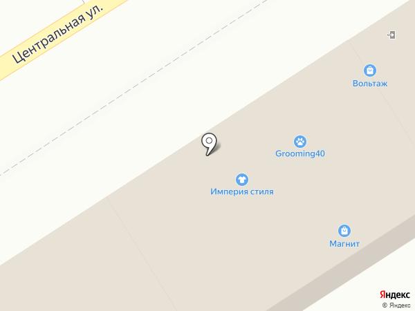 Лагуна на карте Воротынска