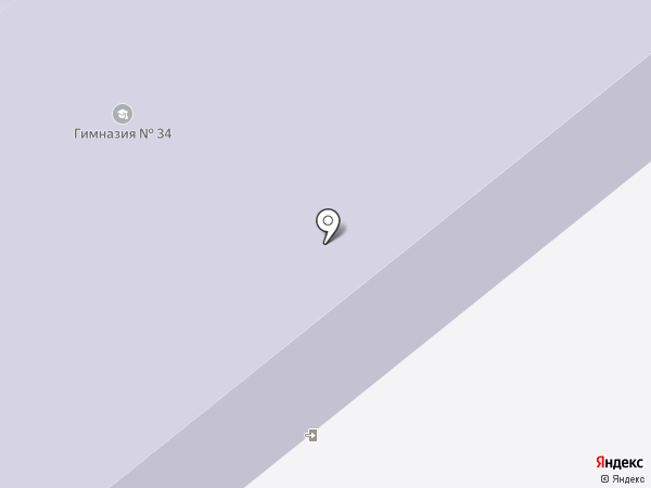 Гимназия №34 на карте Орла