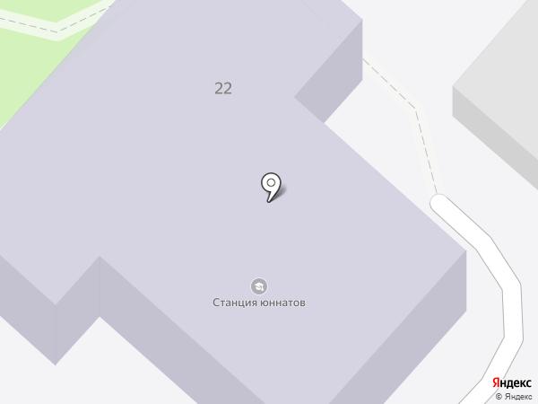Орловская станция юных натуралистов, БУ на карте Орла