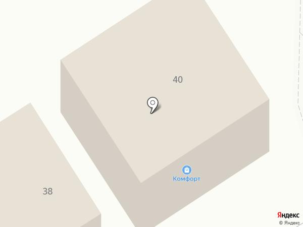 Комфорт на карте Воротынска