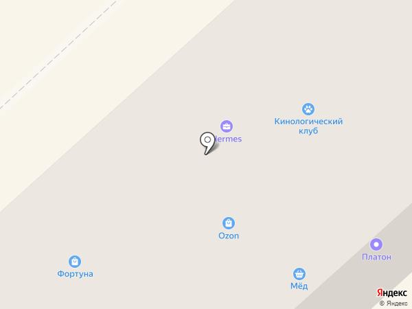 Фортуна на карте Орла